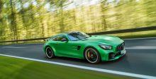 أسرع وأقوى Mercedes  خضراء