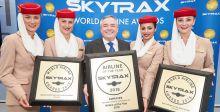 جوائز عالمية لطيران الامارات