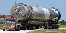 صاروخ غير مأهول الى المحطة الفضائية