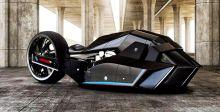 مفهوم جديد لدرّاجة بي ام دبليو النّاريّة
