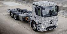 أوّل شاحنة شبه كهربائيّة  من مرسيدس
