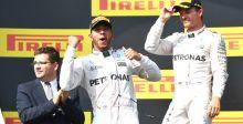 هاميلتون يفوز بسباق ألمانيا ويوسع الفارق مع روزبرج