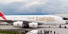 A380 الاماراتية نحو جوهانسبرغ