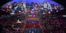 افتتاح الالعاب الاولمبية لا يُنتسى
