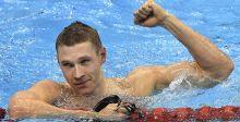 هيمنة اميركية على سباق ١٠٠متر للسباحة