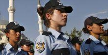 الحجاب للشرطيات التركيات