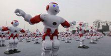 روبوتات راقصة تحقّق رقماً قياسياً