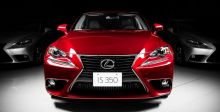 Lexus IS تتخطّى المليون