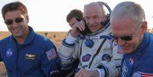 فريقٌ اميركي-روسي يُنهي رحلة فضائية