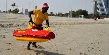 منقذ بحريّ آليّ على شواطئ دبي