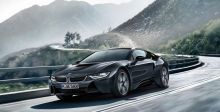BMW i8  الدّاكنة الحصريّة السّاحرة