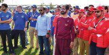 ملك البحرين وحاكم دبي في بطولة القدرة