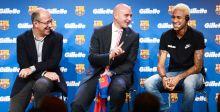 جيليت والشراكة مع نادي برشلونة