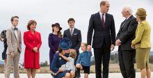 الامير جورج يُحرجُ رئيس وزراء كندا