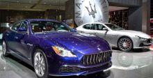 Maserati  في معرض باريس