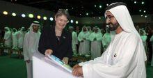 حاكم دبي يطلق منظمة للاقتصاد الاخضر
