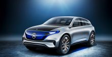 المظهر الكهربائيّ لجيل Mercedes EQ