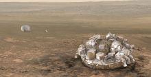 هل تحطمت المركبة الاوروبية على المريخ؟