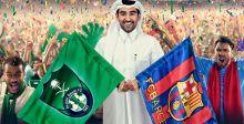 مباراة ودية بين برشلونة والأهلي السعودي
