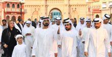 حاكم دبي في مشاريع ترفيهية