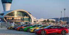 ألوانٌ حصريّة لل BMW i8  في أبو ظبي