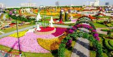 حديقة دبي تزهر فرحاً قريباً