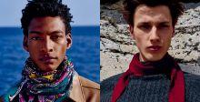 أوشحة وربطات عنق فاخرة من Hermès