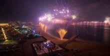 جزيرة المرجان تستقبل العام الجديد