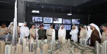حاكم دبي يتفقد برج خليفة
