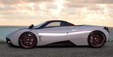 Huayra Roadster الى جنيف