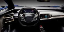لوحة أماميّة مستقبليّة في ال Ford GT