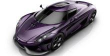 تحية ل Prince  في ال Koenigsegg Regera