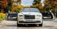رفاهية ال Rolls-Royce Dawn  المكشوفة