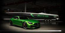 قاربٌ سريعٌ يذكّر بال AMG GT R