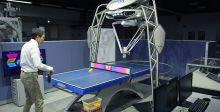 روبوت يعلّم لعب كرة الطاولة