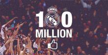 ريال مدريد يكتسح الفيسبوك !