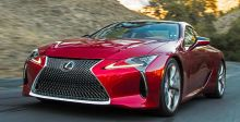 Lexus LC 500  الجديدة تنطلق