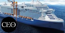 سفينة هائلة مخصّصة للرحلات السياحية
