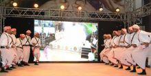 رقص شعبي في مهرجان المانغو