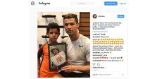 كريستيانو رونالدو يحقق 100 مليون متابع  على انستغرام