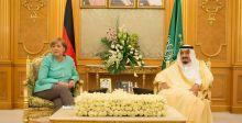 """مركل وعبدالعزيز: اتفاقية لافتتاح مركز""""اس ايه بي"""""""