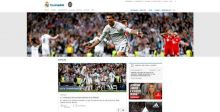 موقع ريال مدريد يحقّق انجازاً جديداً