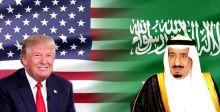 ترامب في زيارته التاريخية الي السعودية