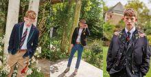 كونور نيوال يعرض ملابس Gucci