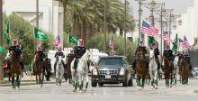 الخيول العربية الأصيلة في الضيافة السعودية