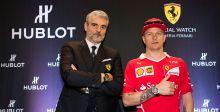Hublot تستقبل فريق Ferrari
