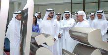 حاكم دبي في حي التصميم الإبداعي