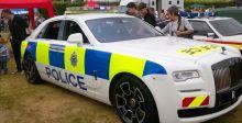 عرض أوّل سيّارة رولز- رويس Ghost  شرطيّة