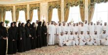 ولي عهد أبوظبي يشيد بالفريق الفضائي الإماراتي