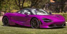 McLaren بألوان نابضة بالحياة